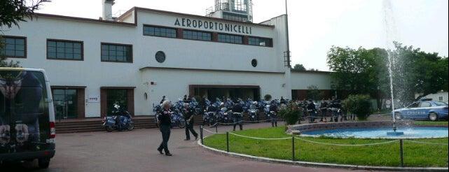 """Aeroporto di Venezia-Lido """"Giovanni Nicelli"""" (LIPV) is one of Venezia."""
