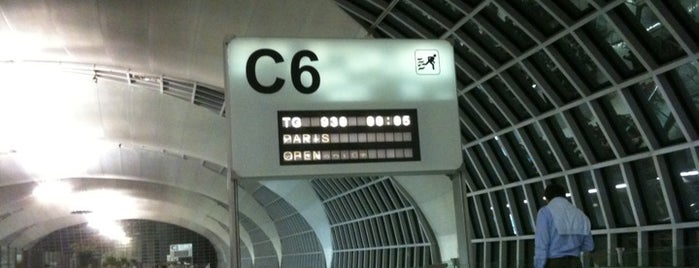 Gate C6 is one of TH-Airport-BKK-1.
