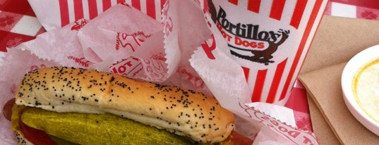 Portillo's is one of What's For Lunch?!.