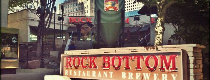 Rock Bottom Restaurant & Brewery is one of Favorite Nightlife Spots.
