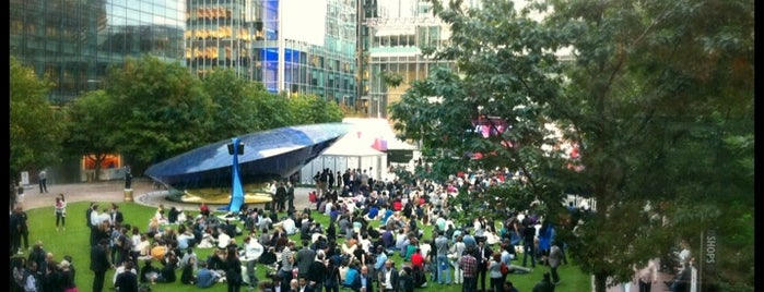 Canada Square Park is one of Best Parks In London.