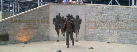 Joe Paterno Statue is one of Penn State Campus Tour.