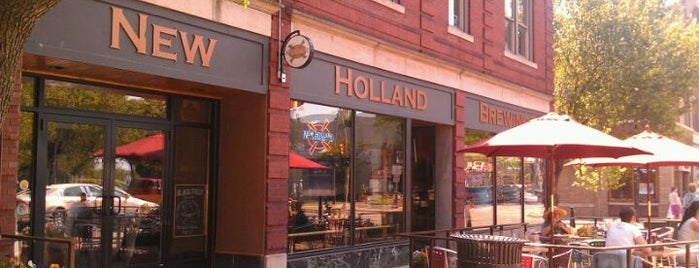 New Holland Brewing Company is one of Michigan Breweries.
