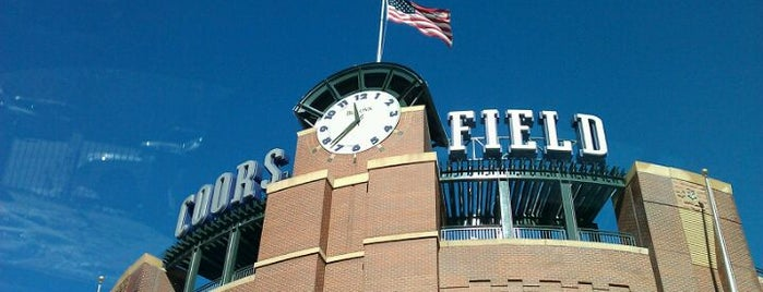 Coors Field is one of Top Picks for Sports Stadiums/Fields/Arenas.