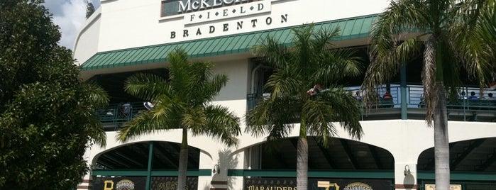McKechnie Field is one of Grapefruit League.