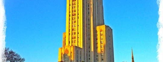 Cathedral of Learning is one of PghToDo.