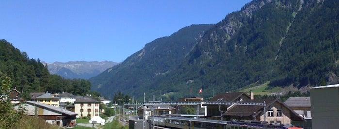 Bahnhof Linthal is one of Bahnhöfe Top 200 Schweiz.