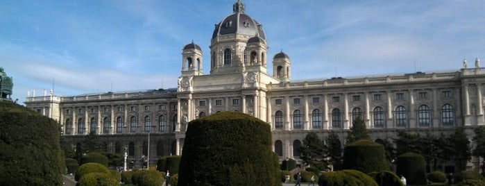 Kunsthistorisches Museum Wien is one of StorefrontSticker #4sqCities: Vienna.