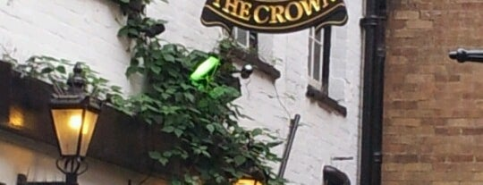 The Crown is one of Pubs of Oxford.
