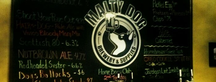 Malty Dog Brewery & Supplies is one of Michigan Breweries.