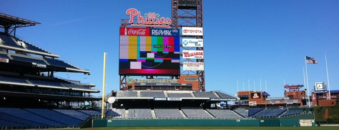 Citizens Bank Park is one of Best Stadiums.