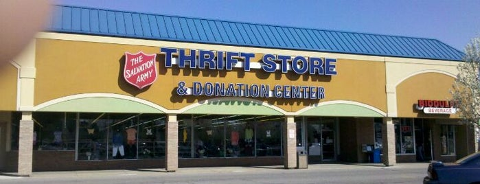 Salvation Army is one of Top Ten Thrift Stores in Cleveland and NE Ohio.