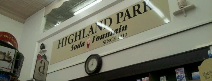Highland Park Old-Fashioned Soda Fountain is one of Sweet Treats in Dallas.