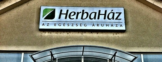 Herbaház is one of Budapesti egészséges helyek.