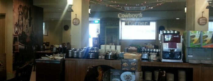Cowboy's Tavern is one of Greasy Spoon Badge venues.