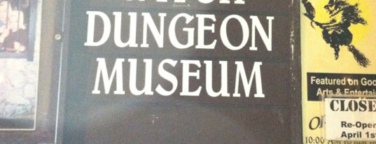 Witch Dungeon Museum is one of Aquariums, Museums and Zoos in Boston.