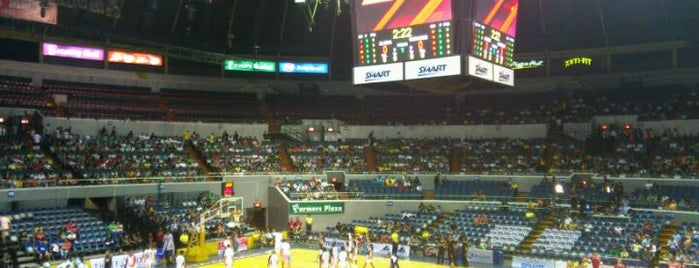 SMART Araneta Coliseum is one of Metro Manila.