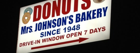 Mrs. Johnson's Bakery is one of Gotta Try Donuts!.