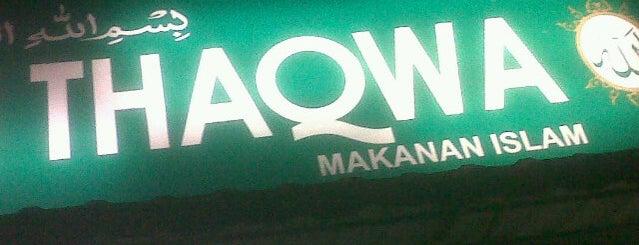 Restoran Thaqwa is one of 1. Selangor Darul Ehsan.