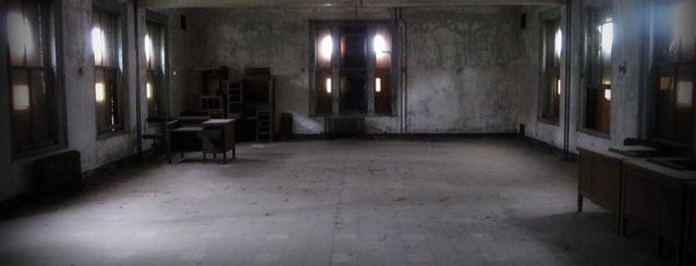 Ellis Island is one of Abandoned NYC.