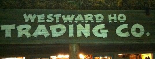 Westward Ho Trading Co. is one of Disneyland Shops.