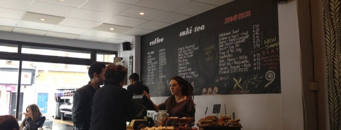 Grind Coffee Bar is one of 100+ Independent London Coffee Shops.
