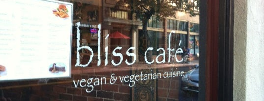 Bliss cafe is one of Vegan <3.
