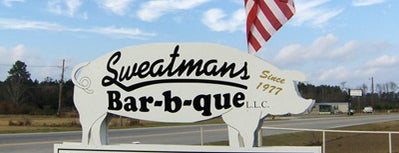 Sweatman's BBQ is one of South Carolina Barbecue Trail - Part 1.
