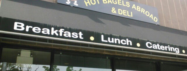 Hot Bagels Abroad is one of Best Food in Montclair.