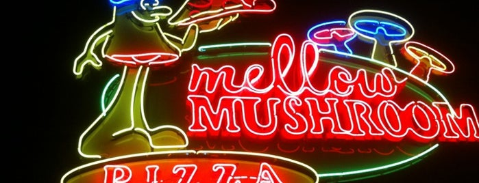 Mellow Mushroom is one of Fave Foodies.