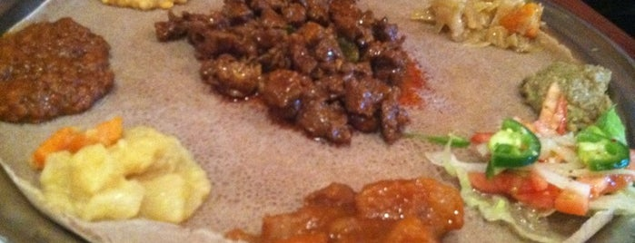 Etete Ethiopian Cuisine is one of Go-to spots.