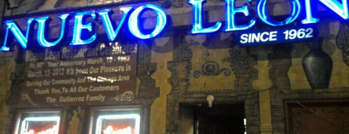 Nuevo Leon Restaurant is one of Eating Chicago..