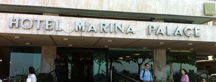 Marina Palace is one of Best places in Rio de Janeiro, Brasil.