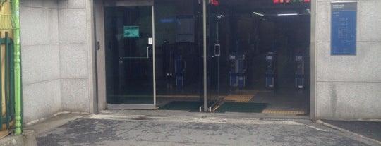 한남역 (Hannam Stn.) is one of Subway Stations in Seoul(line1~4 & DX).