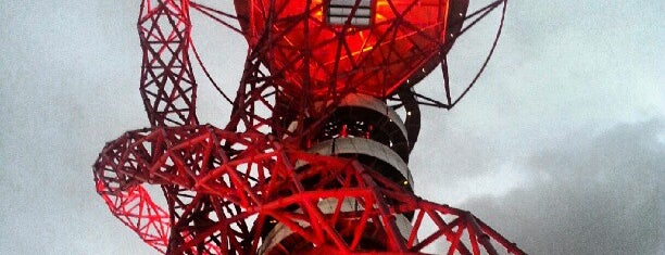 ArcelorMittal Orbit is one of Guardian Olympic park walking tour.