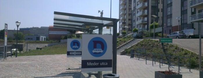 Meder utca (D11, D12, D13) is one of 1.