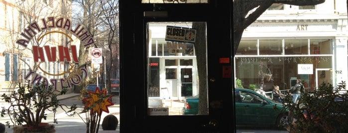 Philadelphia Java Company is one of It's Always Sunny In Philadelphia Itinerary.