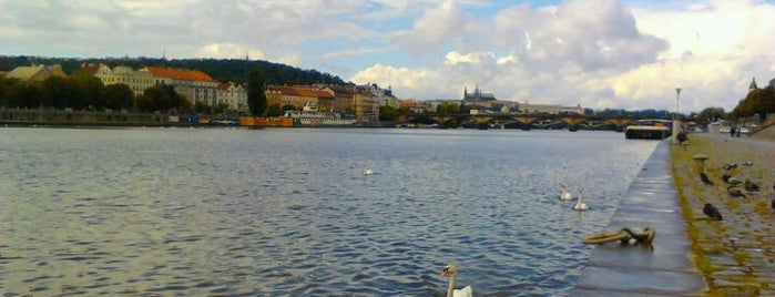 Pražská náplavka | Vltava Riverside is one of OUT DOOR-Areas.