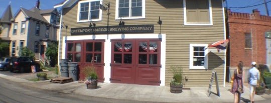 Greenport Harbor Brewing Company is one of Favorite places.