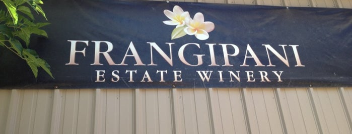 Frangipani Estate Winery is one of Temecula Wineries.