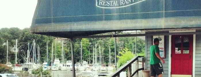 Deep Creek Restaurant and Marina is one of bars.