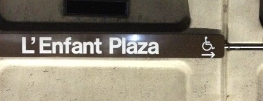 L'Enfant Plaza Metro Station is one of WMATA Train Stations.