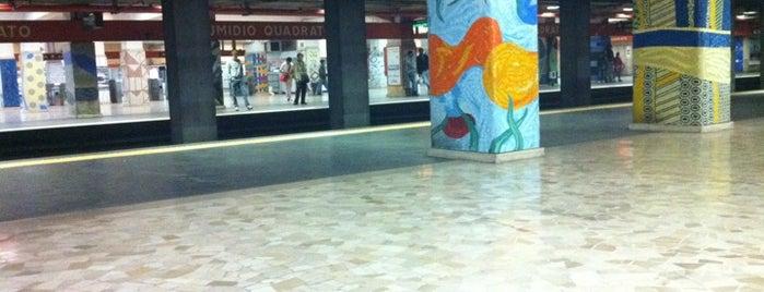 Metro Numidio Quadrato (MA) is one of Muoversi a Roma.