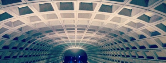 Capitol South Metro Station is one of WMATA Train Stations.