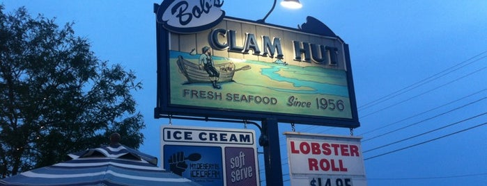 Bob's Clam Hut is one of DINERS DRIVE-INS & DIVES.