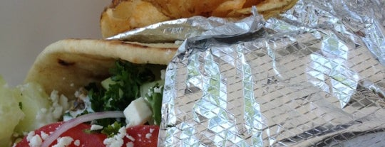 Go Gyro Go is one of St. Louis food trucks.