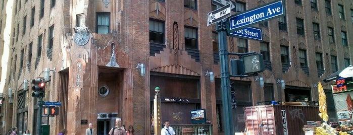 Lexington Avenue is one of NYC's Presidential Haunts.