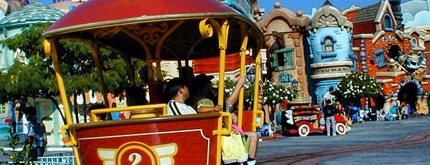 Mickey's Toontown is one of Disneyland.