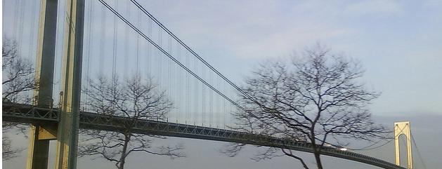 Verrazano-Narrows Bridge is one of NYC's Historic War Sites.