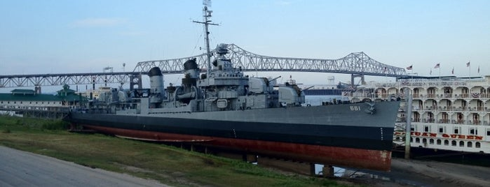 USS Kidd is one of Baton Rouge Things to Do.